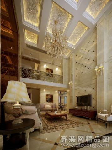 138平米跃层户型欧式风格家装装修图片设计-武汉齐装