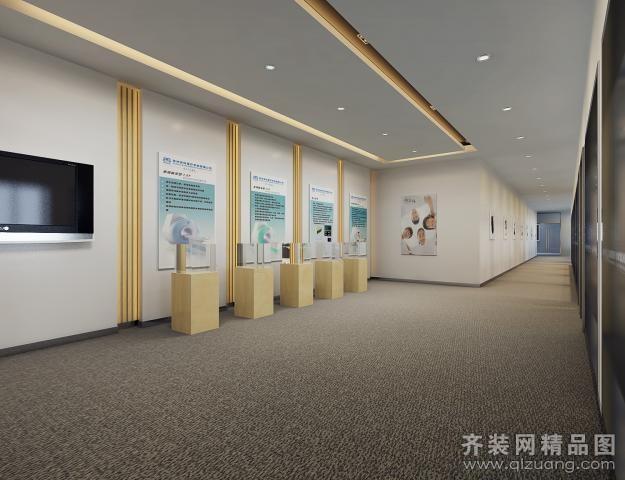 江门众志医疗系统有限公司现代简约装修效果图实景图