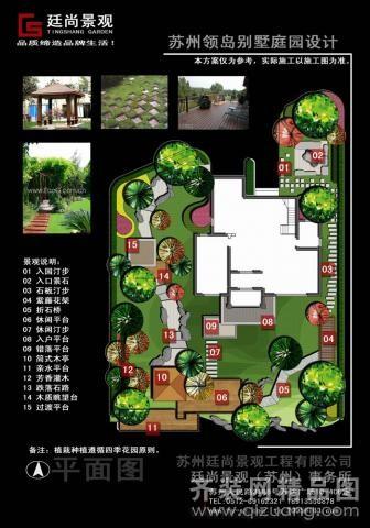 多个别墅设计竣工图