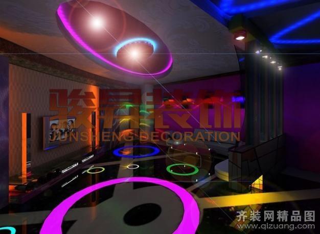 ktv娱乐城现代简约装修效果图实景图