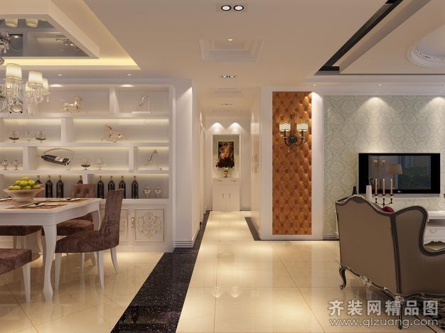 127平米其它欧式风格家装装修图片设计-徐州齐装网
