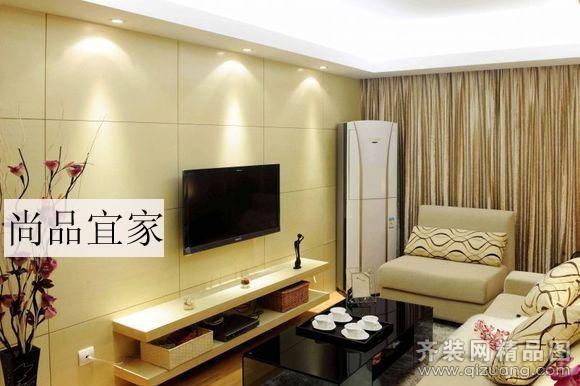 110平米普通戶型現代簡約家裝裝修圖片設計-濟南齊裝