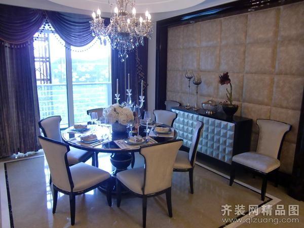 280平米别墅欧式风格家装装修图片设计-武汉齐装网