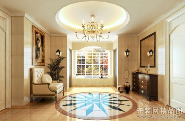 托斯卡纳别墅欧式风格装修效果图实景图