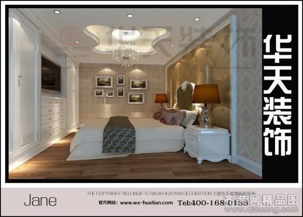 250平米别墅欧式风格家装装修图片设计-无锡齐装网
