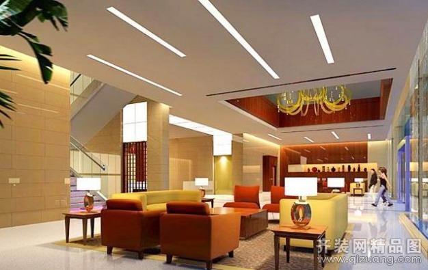 车坊酒店现代简约装修效果图实景图