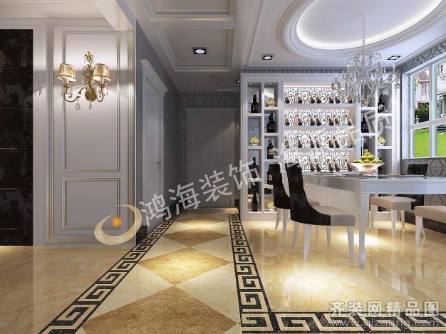 140平米普通户型欧式风格家装装修图片设计-洛阳齐装