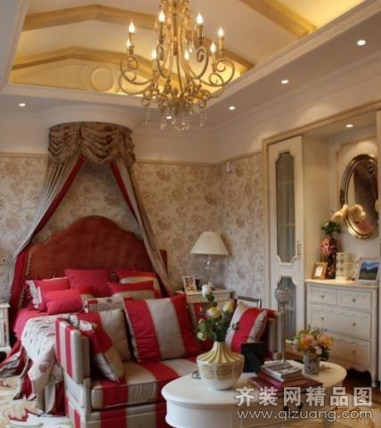 145平米普通戶型歐式風格家裝裝修圖片設計-南京齊裝