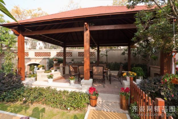 340平米別墅歐式風格家裝裝修圖片設計-杭州齊裝網