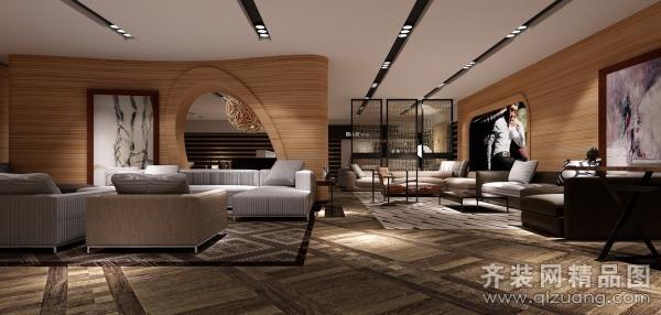 青岛海博家居300平米普通户型现代简约家装装修图片