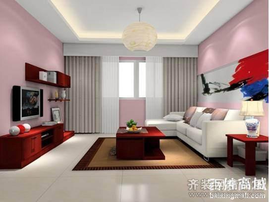 东方华庭现代简约装修效果图实景图