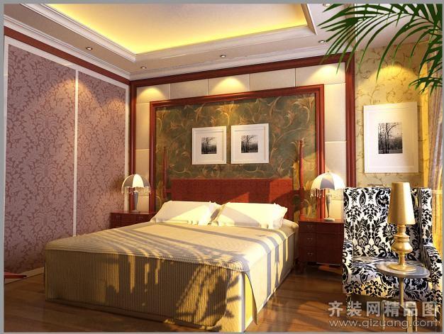 尚城世家古典风格装修效果图实景图