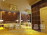 宾馆装修中式风格装修效果图实景图