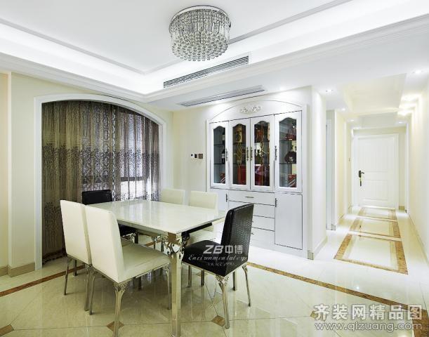 138平米普通户型欧式风格家装装修图片设计-杭州齐装