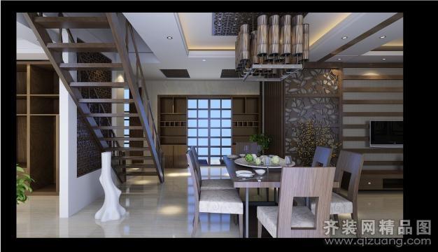 朗悦湾美式风格装修效果图实景图