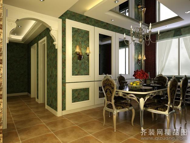 230平米复式户型欧式风格家装装修图片设计-盐城齐装