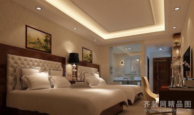 酒店宾馆现代简约装修效果图实景图