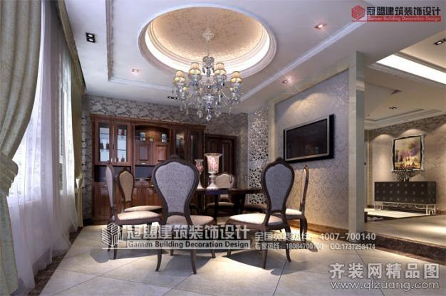 300平米别墅欧式风格家装装修图片设计-宁德齐装网
