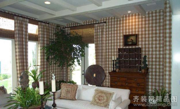 540平米别墅美式风格家装装修图片设计-湖州齐装网