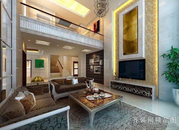 630平米别墅欧式风格家装装修图片设计-温州齐装网