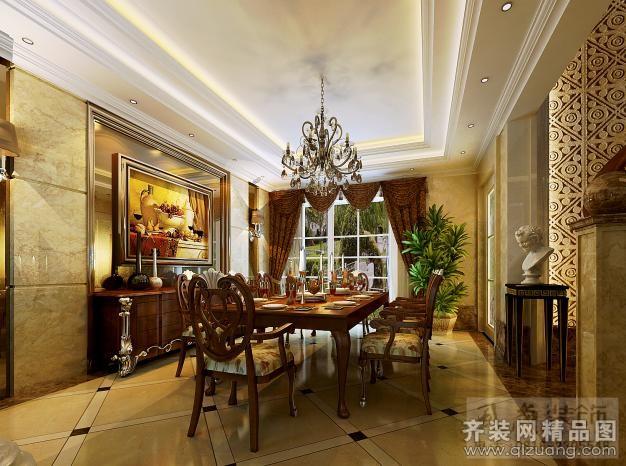 561平米别墅欧式风格家装装修图片设计-绵阳齐装网