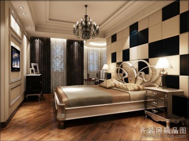 390平米别墅欧式风格家装装修图片设计-湖州齐装网