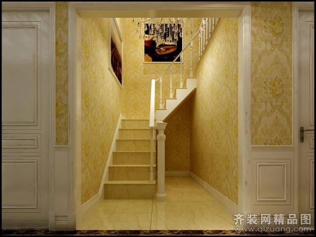 250平米普通户型欧式风格家装装修图片设计-海安齐装