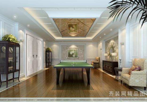 550平米别墅欧式风格家装装修图片设计-吴江齐装网