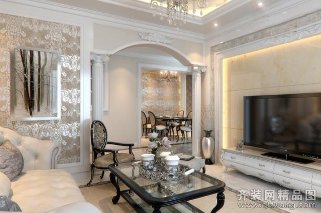 260平米别墅欧式风格家装装修图片设计-苏州齐装网