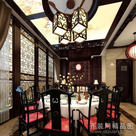 金陵大酒店中式风格装修效果图实景图