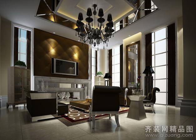 星河尚城现代简约装修效果图实景图