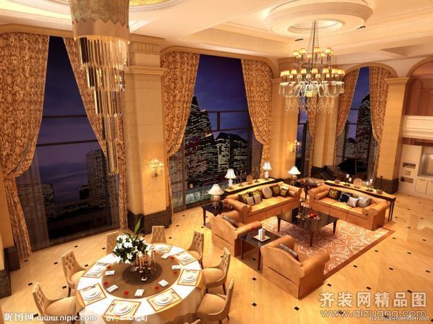 酒店装修混搭风格装修效果图实景图
