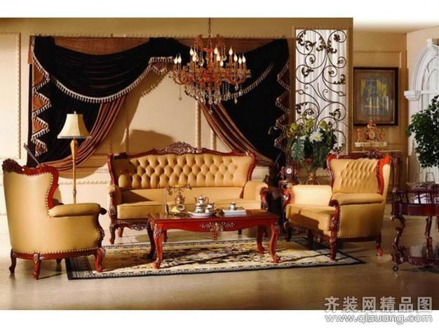 家庭装修美式风格装修效果图实景图