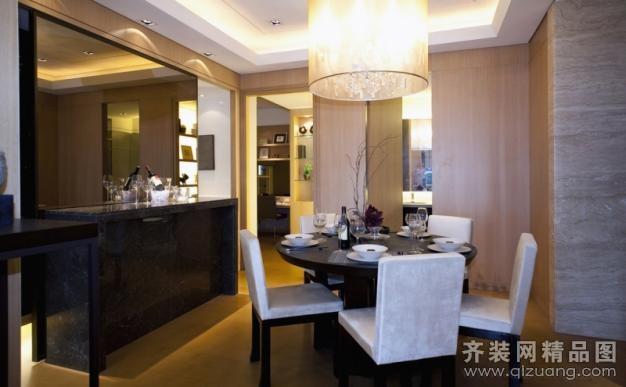 玫瑰西班牙样板房中式风格装修效果图实景图