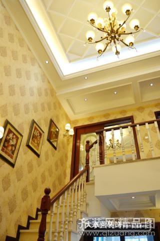 99平米跃层户型欧式风格家装装修图片设计-重庆齐装
