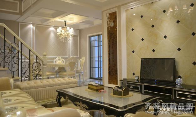 110平米跃层户型古典风格家装装修图片设计-重庆齐装