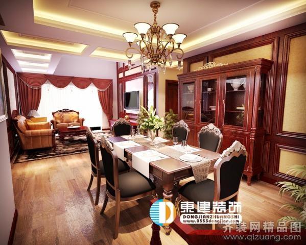 170平米复式户型中式风格家装装修图片设计-芜湖齐装
