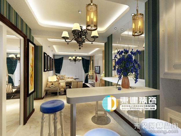 张家山领秀城(小资情调)现代简约装修效果图实景图