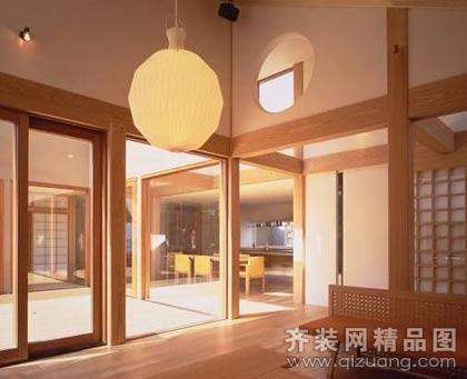 明月新城中式风格装修效果图实景图