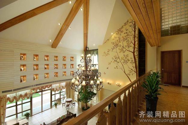 别墅户型欧式风格装修效果图实景图