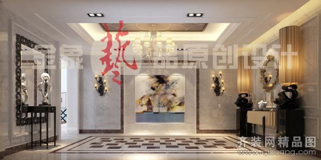 550平米别墅欧式风格家装装修图片设计-苏州齐装网