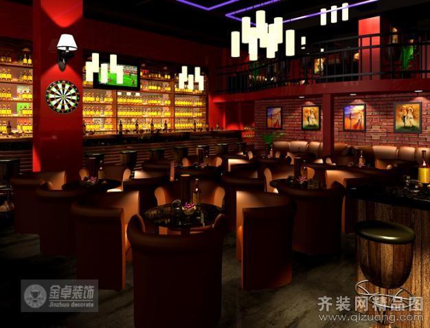 珠江新城兴国路食街高迪酒吧欧式风格装修效果图实景图