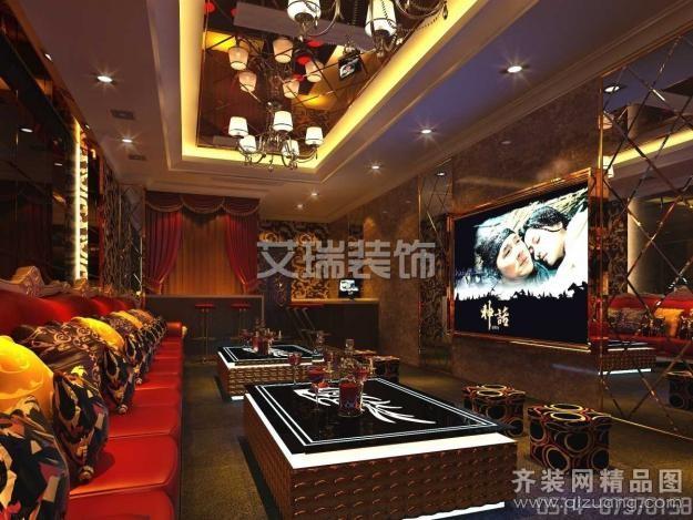 56平米普通户型欧式风格家装装修图片设计-扬州齐装网