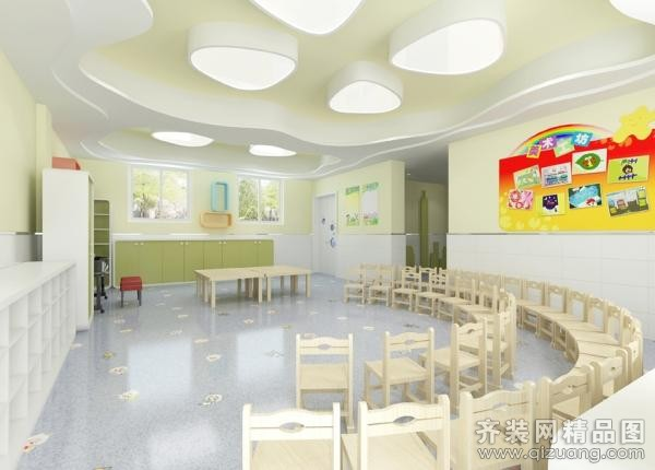 南京鼓楼区某幼儿园装修效果图
