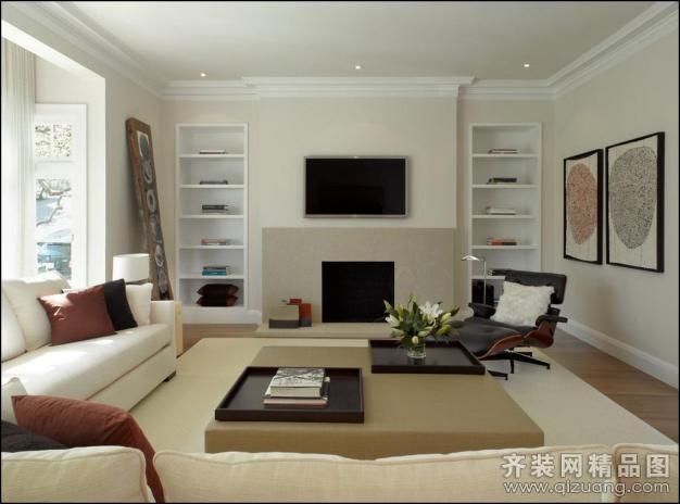 90平米普通户型欧式风格家装装修图片设计-扬州齐装