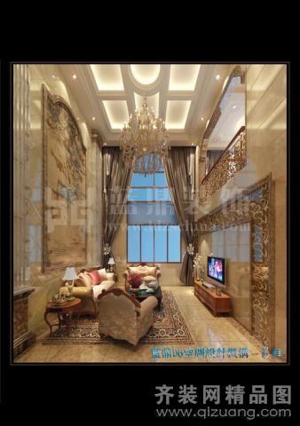 260平米复式户型欧式风格家装装修图片设计-无锡齐装