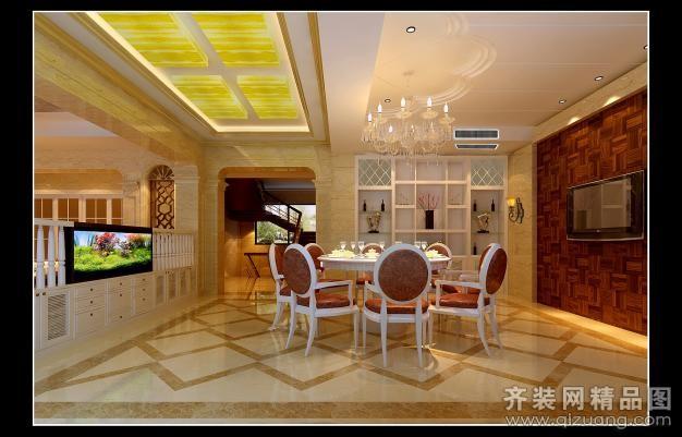800平米别墅欧式风格家装装修图片设计-吴江齐装网