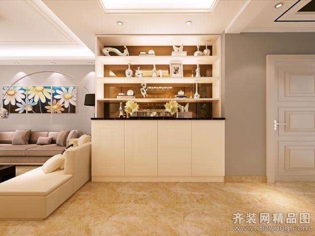 135平米普通户型现代简约家装装修图片设计-扬州齐装