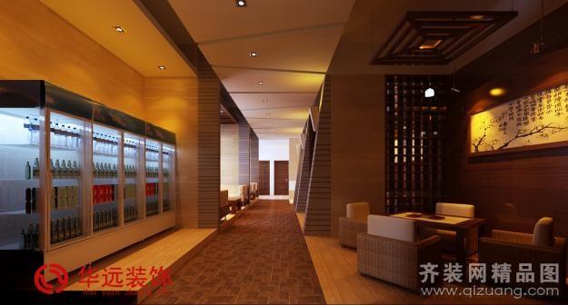 景逸茶室中式风格装修效果图实景图