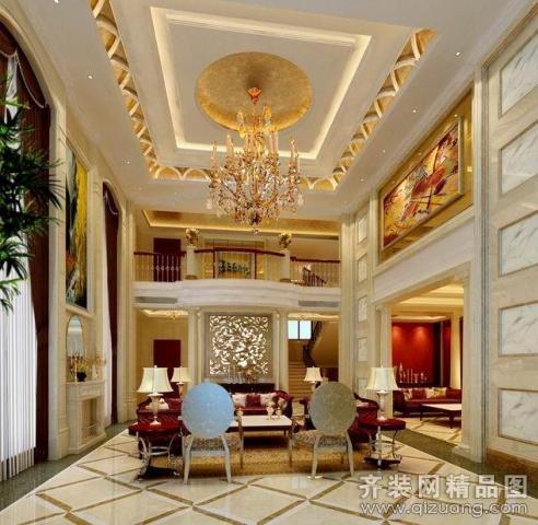 462平米别墅美式风格家装装修图片设计-珠海齐装网